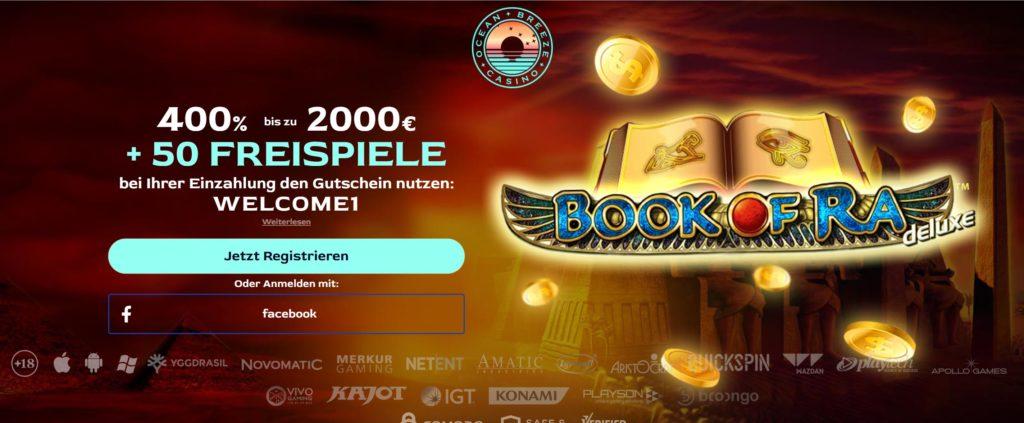 Book of Ra mit Echtgeld spielen